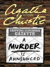 A Murder Is Announced - A Miss Marple Mystery ebook by Agatha Christie