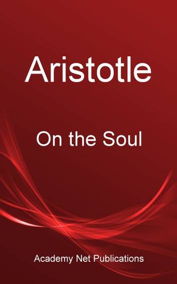 Aristotle On The Soul Ebook De Aristotle 1230000246828 border=