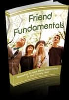 Ebook Friend Fundamentals di Anonymous