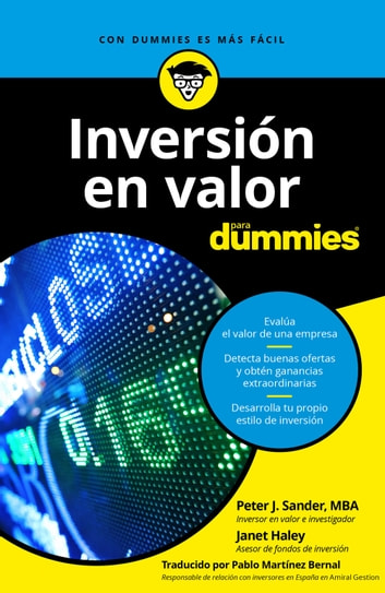 Inversión en valor para Dummies ebook by Peter J. Sander,Janet Haley