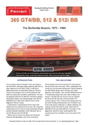 Ferrari 512 & 512i BB Buyers' Guide ebook by Mellor, Chris