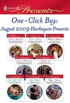 One-Click Buy: August 2009 Harlequin Presents ebook by Sharon Kendrick, Emma Darcy, Melanie Milburne,...