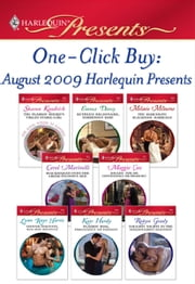One-Click Buy: August 2009 Harlequin Presents - The Playboy Sheikh's Virgin Stable-Girl\Ruthless Billionaire, Forbidden Baby\The Marcolini Blackmail Marriage\Blackmailed into the Greek Tycoon's Bed\Bought: For His Convenience or Pleasure?\Spanish Magnate, Red-Hot Revenge ebook by Sharon Kendrick, Emma Darcy, Melanie Milburne,...