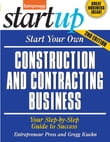 Start Your Own Construction and Contracting Business
