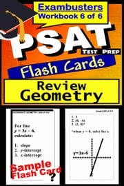 PSAT Test Prep Geometry Review--Exambusters Flash Cards--Workbook 6 of 6 - PSAT Exam Study Guide ebook by PSAT Exambusters