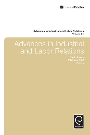 Advances in industrial and labor relations ebook by 9781784413798 advances in industrial and labor relations ebook by fandeluxe Image collections