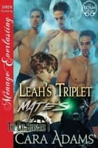Leah's Triplet Mates ebook by Cara Adams