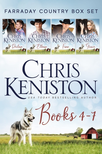 Farraday Country : Books 4-7 Contemporary Romance Boxed Set ebook by Chris Keniston