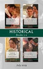 Historical Box Set 1-4/Daring to Love the Duke's Heir/The Determined Lord Hadleigh/The Highborn Housekeeper/The Rake's Enticing Proposal ebook by Sarah Mallory, Janice Preston, Lara Temple,...