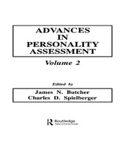 Advances in Personality Assessment - Volume 2 ebook by J. N. Butcher,C. D. Spielberger,Charles D. Spielberger