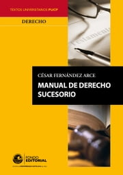 Manual de derecho sucesorio ebook by César Fernandez