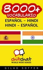 8000+ vocabulario español - hindi ebook by Gilad Soffer