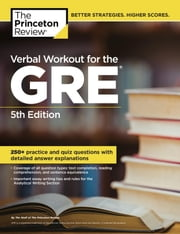 Verbal Workout for the GRE, 5th Edition ebook by Princeton Review