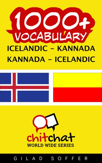 1000+ Vocabulary Icelandic - Kannada ebook by Gilad Soffer