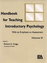 Handbook for Teaching Introductory Psychology - Volume Ii ebook by