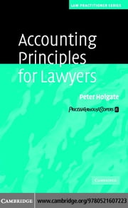 Accounting Principles for Lawyers ebook by Holgate, Peter