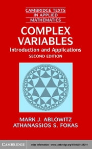 Complex Variables ebook by Ablowitz, Mark J.