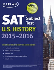 Kaplan SAT Subject Test U.S. History 2015-2016 ebook by Kaplan