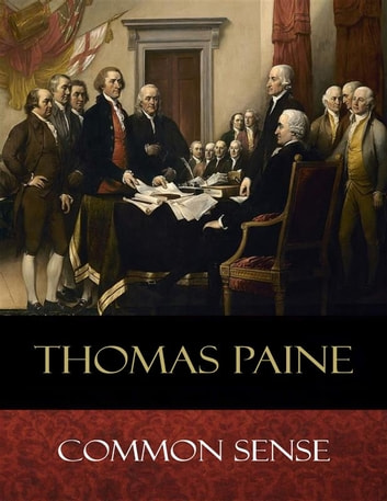 Common Sense ekitaplar by Thomas Paine