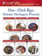 One-Click Buy: October Harlequin Presents ebook by Helen Bianchin, Julia James, Sara Craven,...