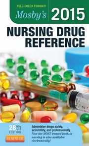 Mosby's 2015 Nursing Drug Reference ebook by Linda Skidmore-Roth