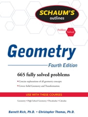 Schaum's Outline of Geometry, 4ed ebook by Barnett Rich,Christopher Thomas