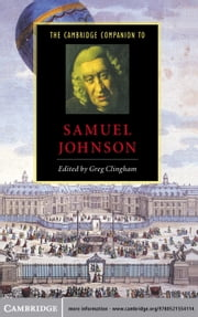 The Cambridge Companion to Samuel Johnson ebook by Greg Clingham