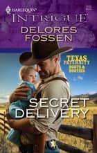 Secret Delivery - A Single Dad Romance ebook by Delores Fossen