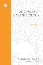 Advances in Marine Biology ebook by Russell, Frederick S.