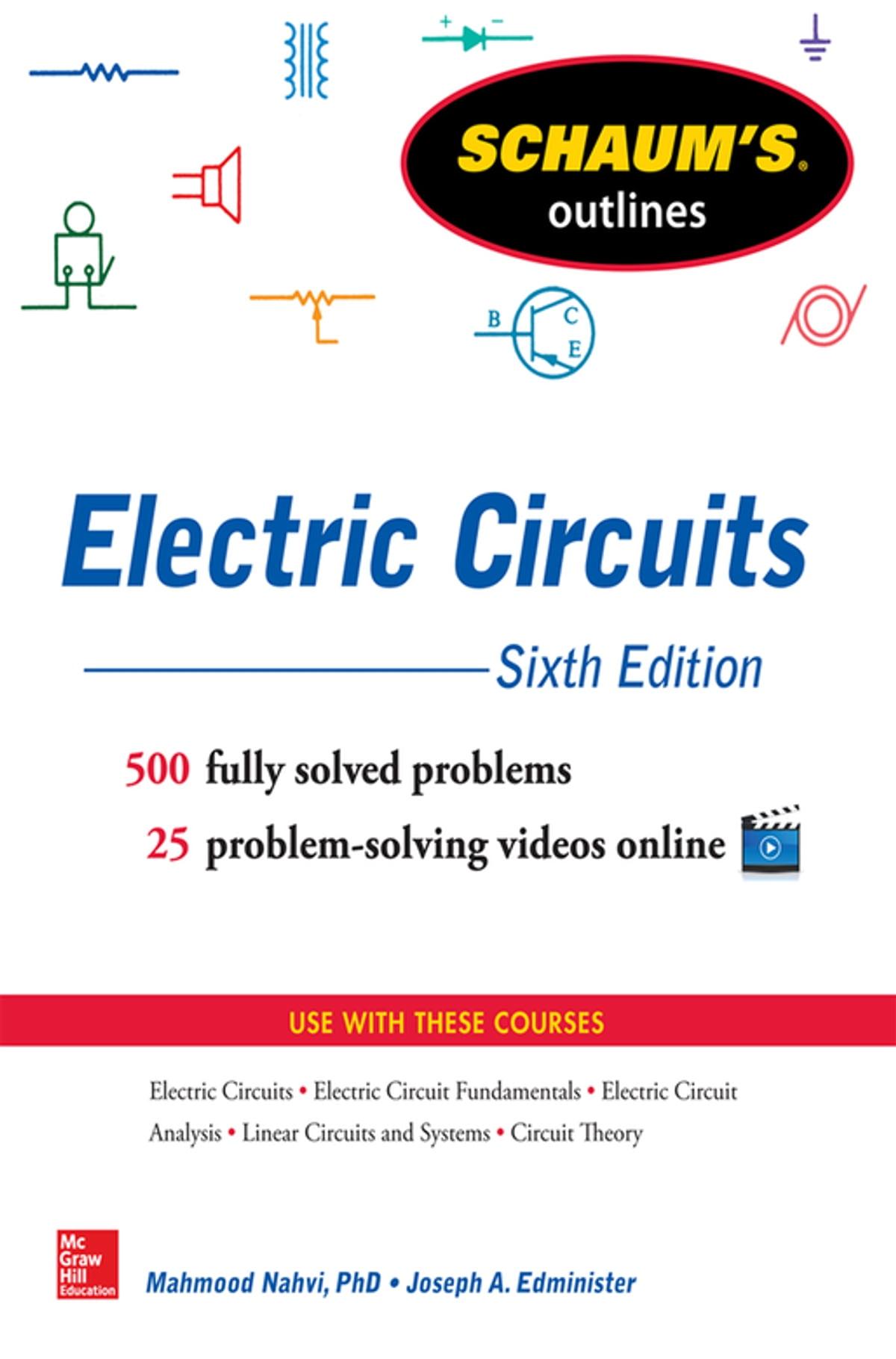 Schaum's Outline of Electric Circuits, 6th edition eBook by Joseph  Edminister - 9780071830447 | Rakuten Kobo