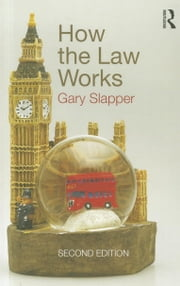 How the Law Works ebook by Slapper, Gary