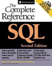 SQL: The Complete Reference, Second Edition ebook by Groff, James