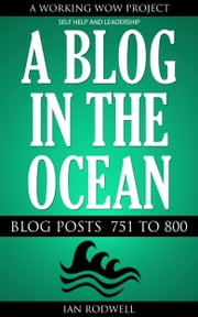 A Blog in the Ocean ebook by Ian Rodwell
