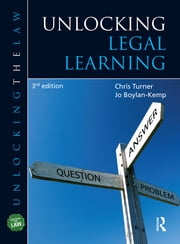 Unlocking Legal Learning ebook by Chris Turner,Jo Boylan-Kemp