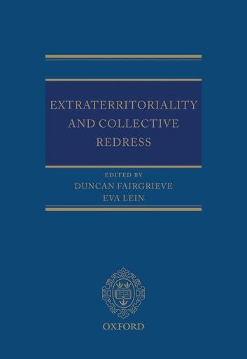 Extraterritoriality and Collective Redress ebook by