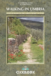 Walking in Umbria ebook by Gillian Price