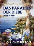 Das Paradies der Diebe (German) ebook by G. K. Chesterton