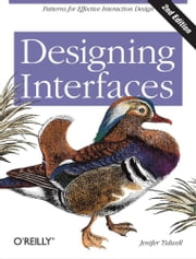 Designing Interfaces ebook by Jenifer Tidwell