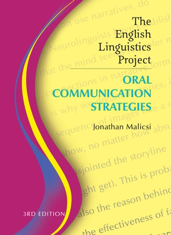 The english linguistics project ebook by jonathan malicsi the english linguistics project oral communication strategies ebook by jonathan malicsi fandeluxe Image collections