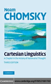Cartesian Linguistics ebook by Chomsky,Noam