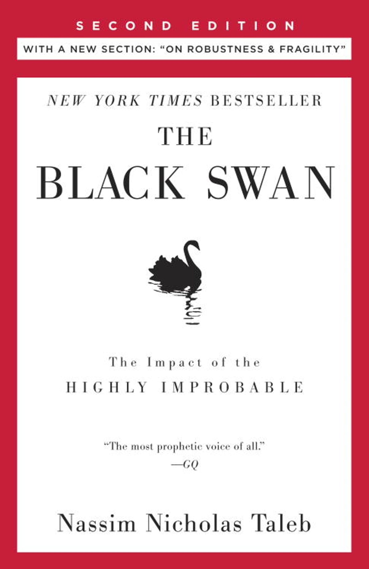 The Black Swan: Second Edition  The Impact Of The Highly Improbable  Fragility