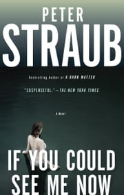 If You Could See Me Now ebook by Peter Straub