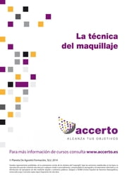 La técnica del maquillaje ebook by Accerto