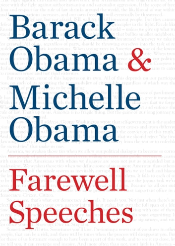 Farewell Speeches ebook by Barack Obama,Michelle Obama