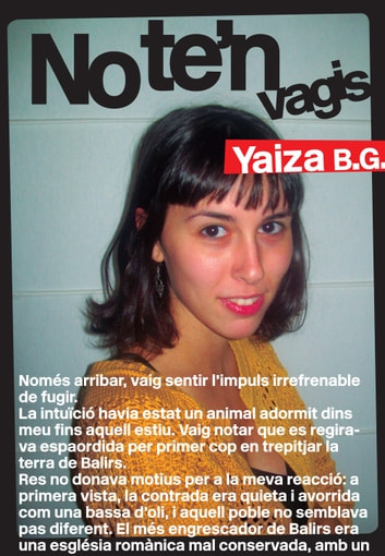 No te'n vagis ebook by Yaiza B.G.