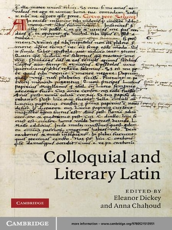 Colloquial and Literary Latin ebook by