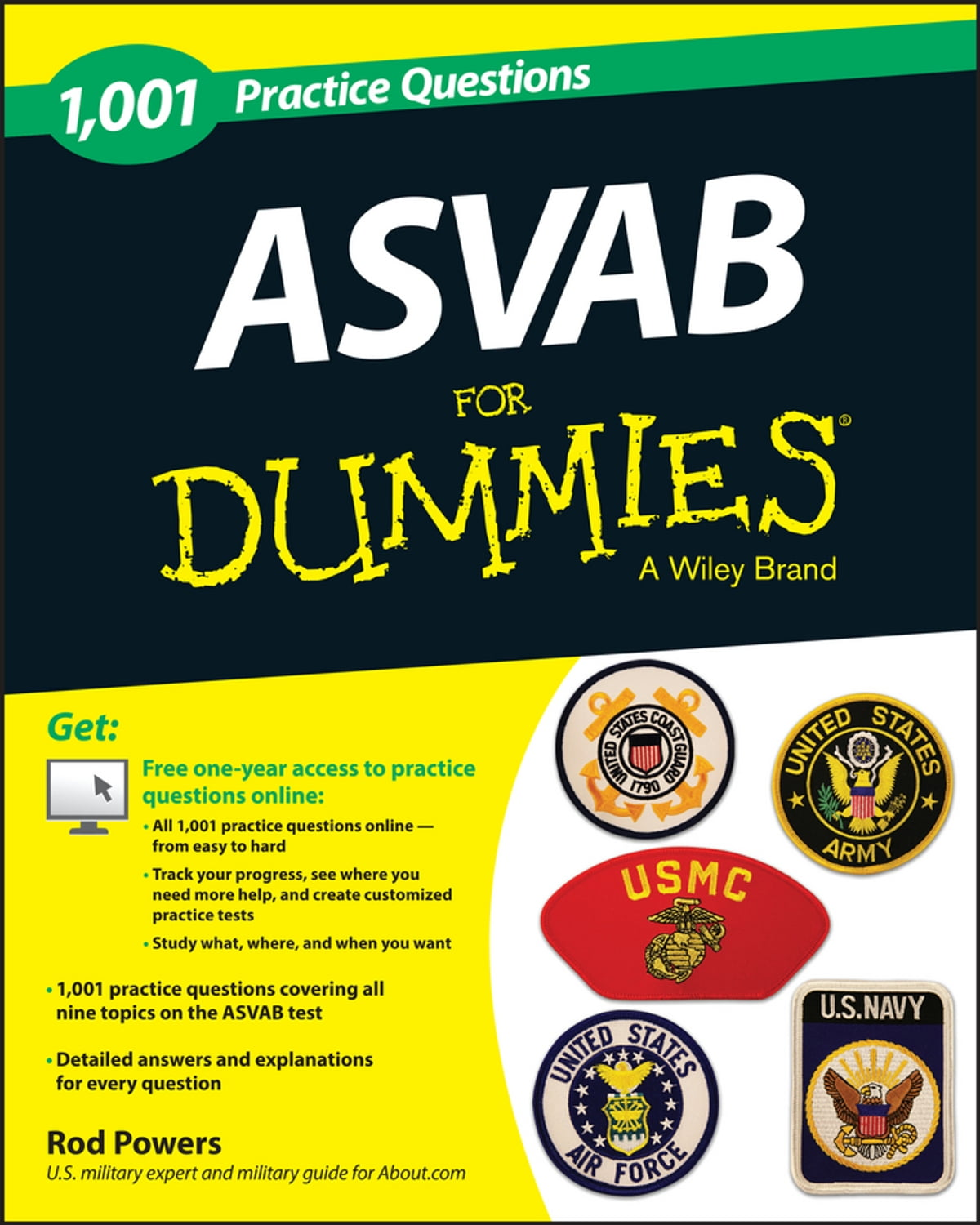 1,001 ASVAB Practice Questions For Dummies (+ Free Online Practice) eBook  by Rod Powers - 9781118646434 | Rakuten Kobo
