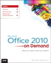 Microsoft Office 2010 On Demand ebook by Steve Johnson,Perspection Inc.