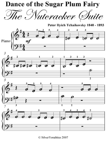 dance of the sugar plum fairy nutcracker suite beginner