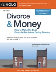 Divorce & Money - How to Make the Best Financial Decisions During Divorce ebook by Kobo.Web.Store.Products.Fields.ContributorFieldViewModel